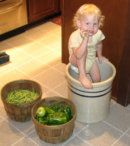 Growing Young Gardeners-Crock