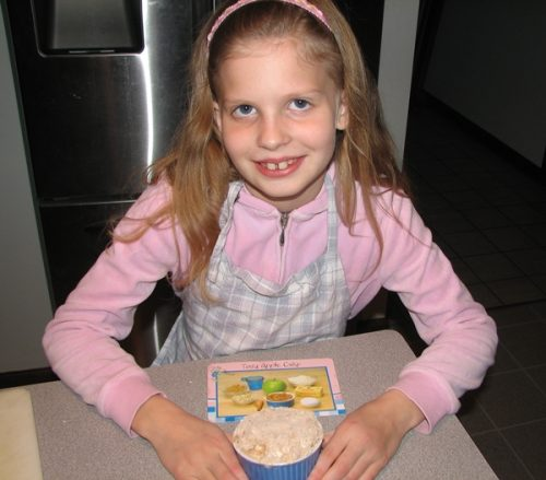 Kid's apple crisp recipe