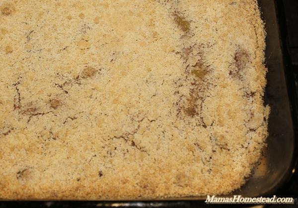 Baked Zucchini Cobbler
