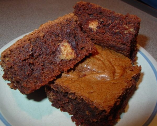 Peanut Butter Cake Brownies