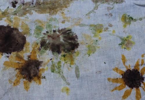 Nature scavenger hunt-Nature Fabric Prints