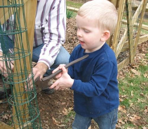 Garden records critter control