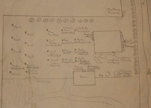 Garden records-map