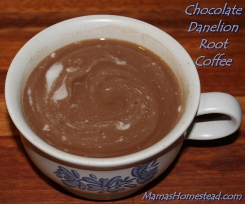 Chocolate Dandelion Root Coffee