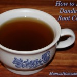 How to Make Dandelion Root Coffee