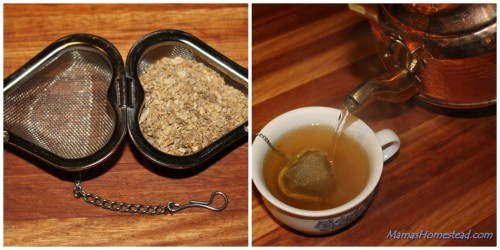 Dandelion Roots Tea Ball