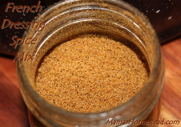 French Dressing Spice Mix