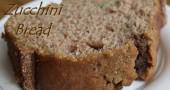 Mama's Zucchini Bread