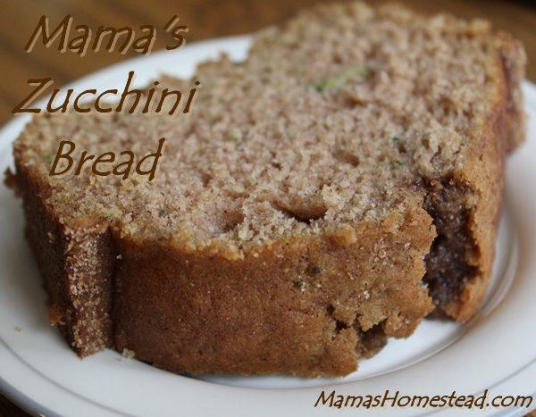 Zucchini Bread Slice