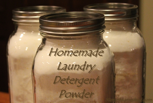 Homemade Laundry Detergent Powder Mama S Homestead