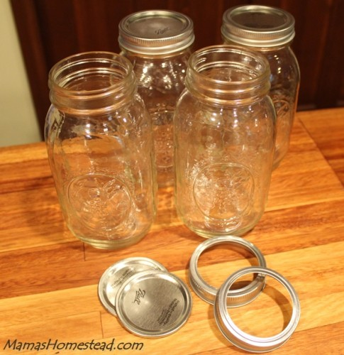 Getting Ready to Can Jars and Lids
