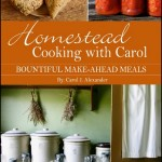 Homestead Cooking with Carol Giveaway