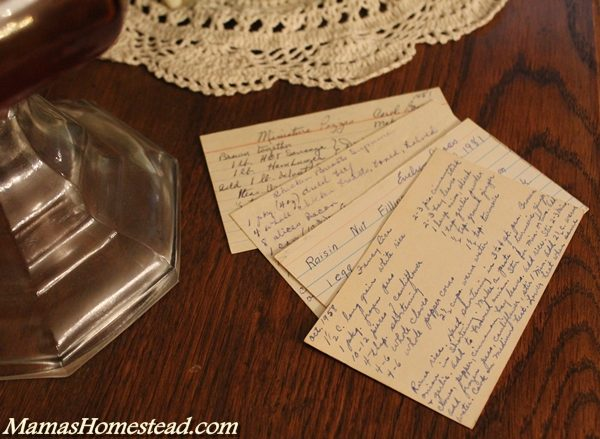 How to write a recipe