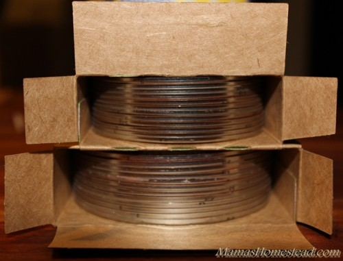Storing Canning Lids