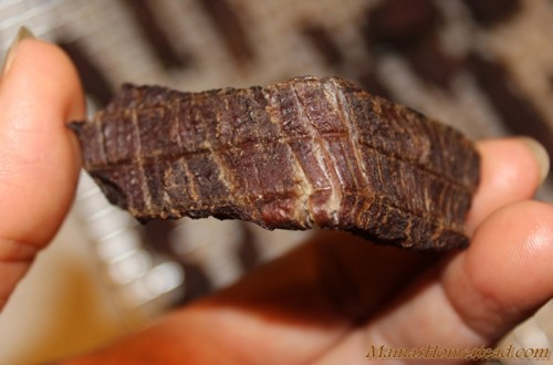 Beef Jerky Crack but not break