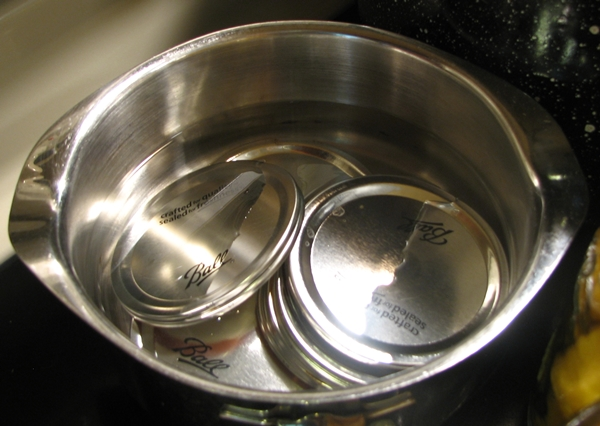 Preparing canning jars and lids