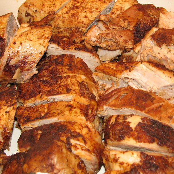 Rubbed Pork Loin