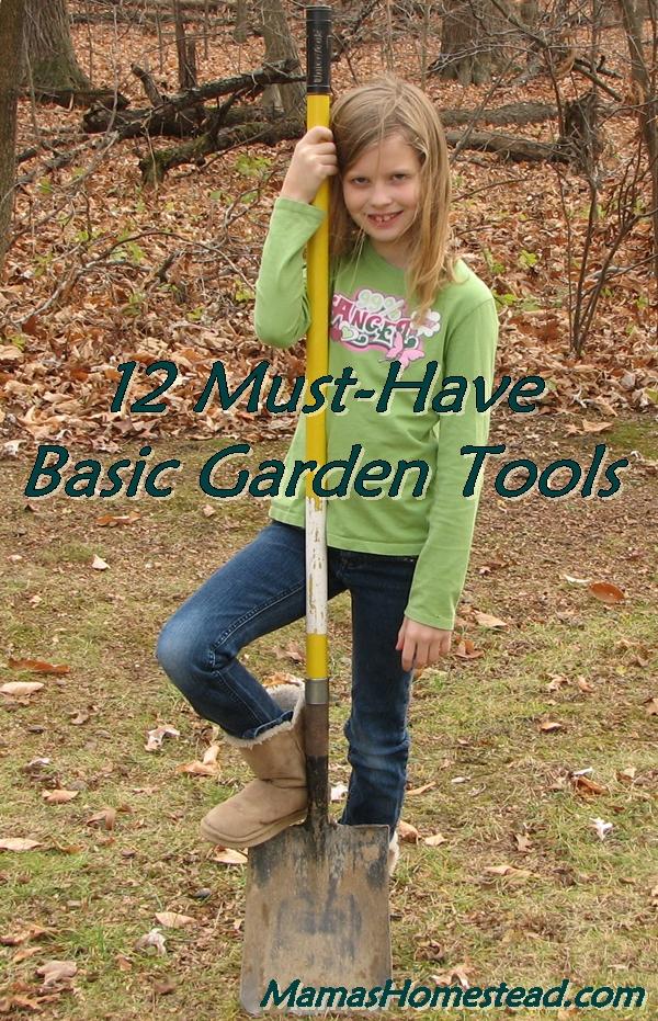 Basic Garden Tools-Shovel