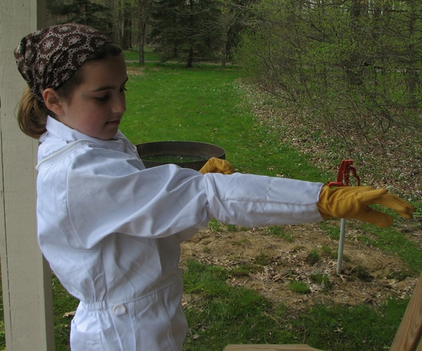 Beekeeping Daughter