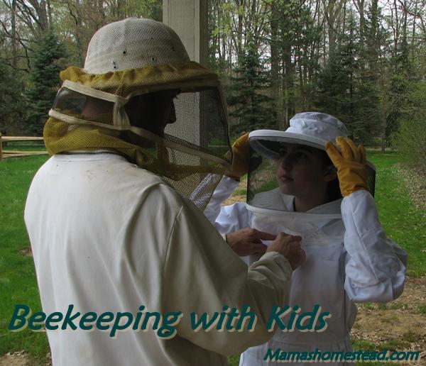 Beekeeping with Kids