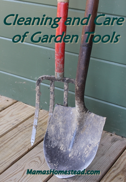 Cleaning and Care of Garden Tools