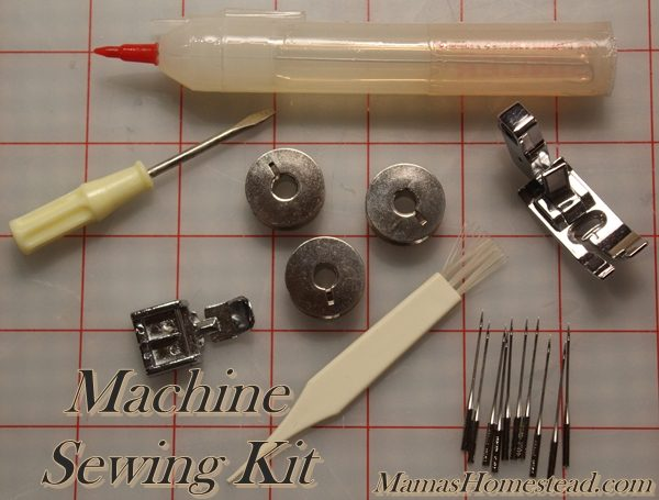 Machine Sewing Kit